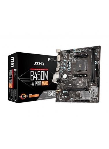 MSI B450M-A Pro Max Ddr4 Dvı Hdmı M.2 Matx Am4 Renkli